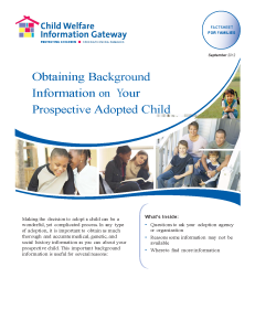 Cover for Background Info